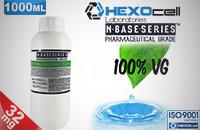 D.I.Y. - 1000ml HEXOcell eLiquid Base (100% VG, 32mg/ml Nicotine) image 1