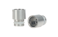 VAPING ACCESSORIES - Short 510 Wide Bore Drip Tip ( Stainless Steel ) image 1