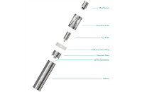KIT - Eleaf iJust 2 Sub Ohm Kit ( Stainless ) image 3