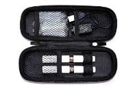 VAPING ACCESSORIES - Medium Size Zipper Carry Case ( Pink ) image 2
