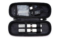 VAPING ACCESSORIES - Medium Size Zipper Carry Case ( Purple ) image 2