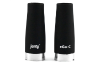 KIT - Janty eGo C VV 900mAh with Kuwako E-Pipe Extension (Double Kit - Variable Voltage - Black) image 9
