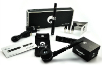 KIT - Janty eGo C VV 900mAh with Kuwako E-Pipe Extension (Double Kit - Variable Voltage - Black) image 1