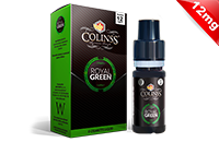 10ml ROYAL GREEN 12mg eLiquid (Tobacco & Mint) - eLiquid by Colins's image 1