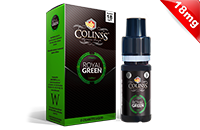 10ml ROYAL GREEN 18mg eLiquid (Tobacco & Mint) - eLiquid by Colins's image 1