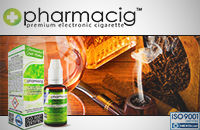 30ml TOBACCO & COGNAC 9mg eLiquid (With Nicotine, Medium) - eLiquid by Pharmacig image 1