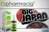 30ml BIG IN JAPAN 9mg eLiquid (With Nicotine, Medium) - eLiquid by Pharmacig image 1
