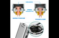 KIT - Eleaf iStick Sub Ohm 100W - Dual 18650 VV/VW ( Black ) image 7