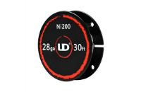 VAPING ACCESSORIES - UD 28 Gauge Ni200 Wire ( 30ft / 9.15m ) image 1