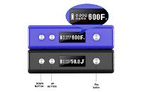 KIT - Cloupor Mini Plus 50W TC ( Dark Blue ) image 2