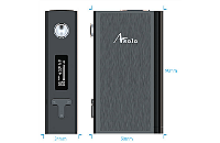 KIT - IJOY Asolo 200W TC Box Mod with Flavor Mode ( Stainless ) image 2