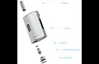KIT - Joyetech eGrip OLED CL 30W VV/VW ( Stainless ) image 3