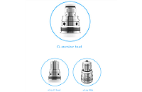 KIT - Joyetech eGrip OLED CL 30W VV/VW ( Stainless ) image 6