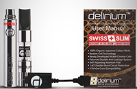KIT - delirium Swiss & Slim V2 ( Single Kit - Silver ) image 5
