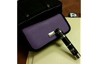 VAPING ACCESSORIES - Pandoras Enigma Handmade Leather Carry Case ( Allium ) image 1