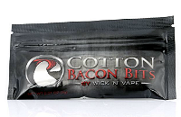 VAPING ACCESSORIES - Cotton Bacon Bits Wickpads image 1