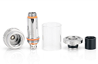 ATOMIZER - ASPIRE Cleito 70W 0.2Ω No-Chimney Clearomizer ( Stainless ) image 3