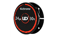 VAPING ACCESSORIES - UD Nichrome 24 Gauge Wire ( 30ft / 9.15m ) image 1