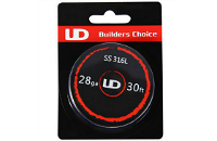 VAPING ACCESSORIES - UD SS 316L 28 Gauge Wire ( 30ft / 9.15m ) image 1