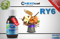 250ml RY6 18mg eLiquid (With Nicotine, Strong) - Natura eLiquid by HEXOcell image 1