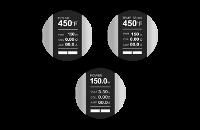 KIT - Joyetech CUBOID 150W - 200W TCR Box Mod ( Silver ) image 7