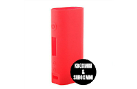 VAPING ACCESSORIES - Kanger Kbox Mini & Subox Mini Protective Silicone Sleeve ( Red ) image 1