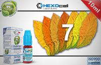 10ml 7 FOGLIE 9mg eLiquid (With Nicotine, Medium) - Natura eLiquid by HEXOcell image 1