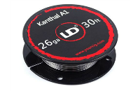 VAPING ACCESSORIES - UD Kanthal A1 26 Gauge Wire ( 30ft / 9.15m ) image 1