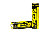BATTERY - Nitecore IMR 18650 2000mAh 30A Battery ( Flat Top ) image 1