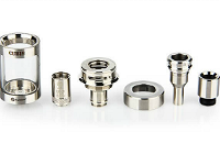 ATOMIZER - JOYETECH CUBIS Cupped TC Clearomizer ( Gold ) image 8