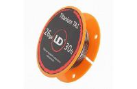 VAPING ACCESSORIES - UD Titanium 26 Gauge Wire ( 30ft / 9.15m ) image 1