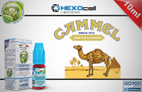 10ml CAMMEL 18mg eLiquid (With Nicotine, Strong) - Natura eLiquid by HEXOcell image 1