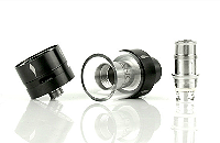 ATOMIZER - COUNCIL OF VAPOR Vengeance Tank Atomizer ( Stainless ) image 5