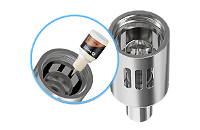 ATOMIZER - JOYETECH eGo ONE 2.5ml TC Capable Sub Ohm Atomizer ( Silver ) image 5