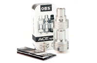 ATOMIZER - OBS Ace Ceramic Coil Sub Ohm Tank Atomizer ( Stainless ) image 1