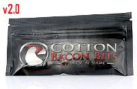 VAPING ACCESSORIES - Cotton Bacon Bits V2 Wickpads image 1