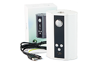 KIT - Eleaf iStick 200W TC Box Mod ( White ) image 1