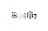 ATOMIZER - Eleaf Lyche Cupped Atomizer with RBA Head ( Stainless ) image 4