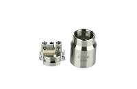 ATOMIZER - Eleaf Lyche Cupped Atomizer with RBA Head ( Stainless ) image 5