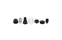 ATOMIZER - VISION / VAPROS KinTa Ceramic Coil Atomizer with RBA Kit ( Black ) image 4
