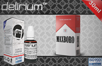 30ml MAXXXBORO 9mg eLiquid (With Nicotine, Medium) - eLiquid by delirium image 1