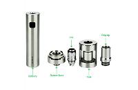KIT - Joyetech eGo ONE V2 XL 2200mAh Full Kit ( Silver ) image 5