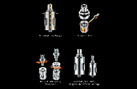 ATOMIZER - VAPORESSO Guardian cCell Ceramic Coil Atomizer ( Silver ) image 6