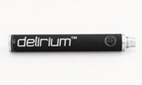 BATTERY - delirium VoLTaGe 1300mAh Variable Voltage (VV) Spinner/Twist Battery - Solid Workmanship, Top Quality Materials ( Black Colour ) image 1