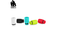 VAPING ACCESSORIES - CHUBBY GORILLA Disposable High Quality 510 Drip Tip ( White ) image 1