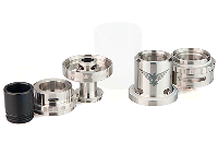 ATOMIZER - GEEK VAPE Eagle 25 RTA with Hand-Built Coils ( Stainless ) image 6