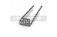 VAPING ACCESSORIES - 60x Coil Master 0.36Ω Pre-Built Flat Twisted Kanthal Coils image 3