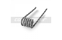 VAPING ACCESSORIES - 60x Coil Master 0.45Ω Pre-Built Fused Clapton Kanthal Coils image 3