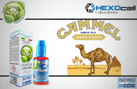 30ml CAMMEL 9mg eLiquid (With Nicotine, Medium) - Natura eLiquid by HEXOcell image 1