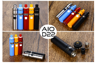 KIT - Joyetech eGo AIO D22 Full Kit ( Stainless ) image 3